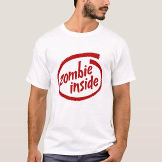 ゾンビの内部によって引き裂かれる衣類 Tシャツ