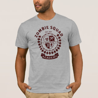 ゾンビの分隊アカデミーのTシャツ Tシャツ