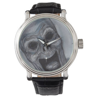 ゾンビの叫びの腕時計 腕時計