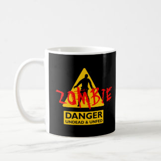 ゾンビの吸血鬼及びUnfed コーヒーマグカップ