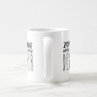 ゾンビの啓示のデニール コーヒーマグカップ