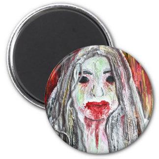 ゾンビの女の子の磁石 マグネット