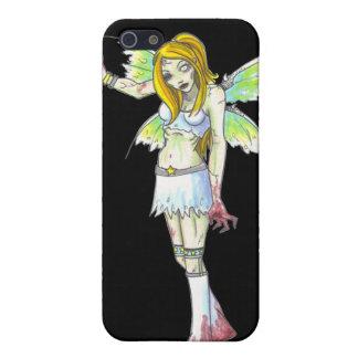 ゾンビの妖精の暗いファンタジーの芸術のiPhone 4のspeckの箱 iPhone SE/5/5sケース