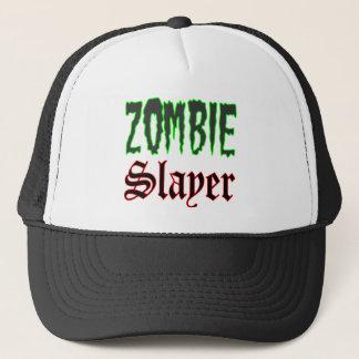ゾンビの帽子のギフトのゾンビの殺害者のロゴ キャップ