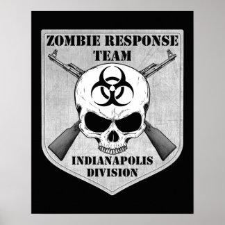 ゾンビの応答のチーム: インディアナポリス部 プリント