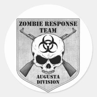 ゾンビの応答のチーム: オーガスタ部 ラウンドシール