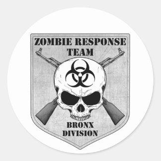 ゾンビの応答のチーム: ブロンクス部 ラウンドシール