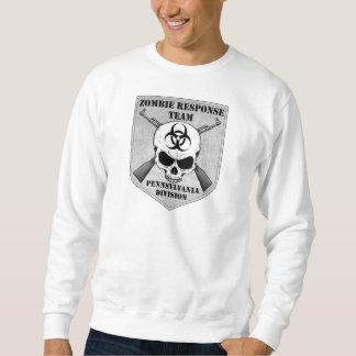 ゾンビの応答のチーム: ペンシルバニア部 スウェットシャツ