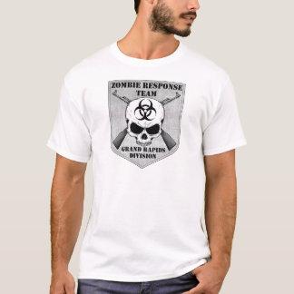 ゾンビの応答のチーム: Grand Rapids部 Tシャツ