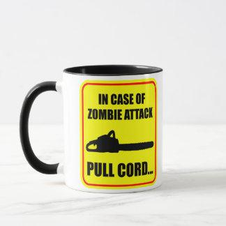 ゾンビの攻撃 マグカップ