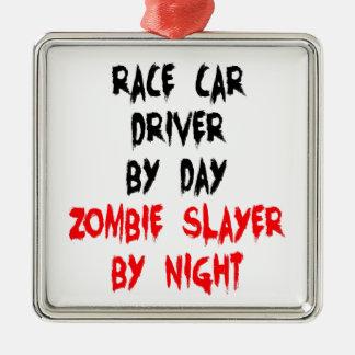 ゾンビの殺害者のカーレースの運転手 メタルオーナメント