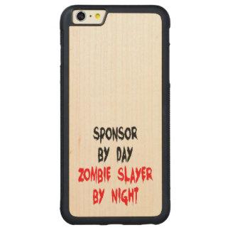 ゾンビの殺害者のスポンサー CarvedメープルiPhone 6 PLUSバンパーケース