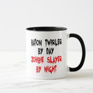 ゾンビの殺害者のバトンガール マグカップ