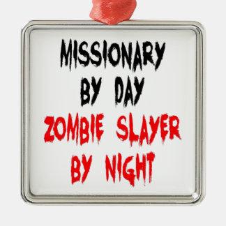 ゾンビの殺害者の宣教師 メタルオーナメント
