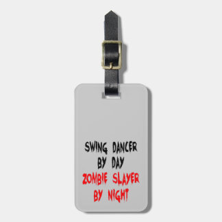 ゾンビの殺害者の振動ダンサー ラゲッジタグ