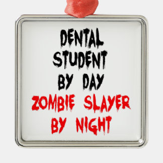 ゾンビの殺害者の歯科学生 メタルオーナメント