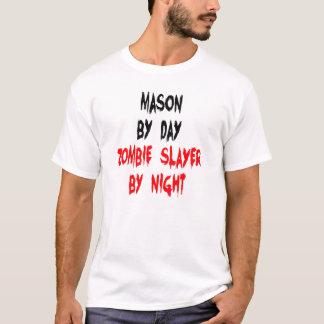 ゾンビの殺害者の石大工 Tシャツ