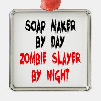 ゾンビの殺害者の石鹸メーカー メタルオーナメント