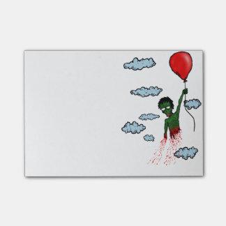 ゾンビの気球のポスト・イット ポストイット