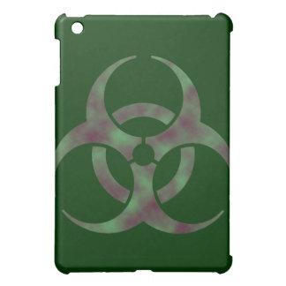 ゾンビの生物学的災害[有害物質]の記号 iPad MINIカバー