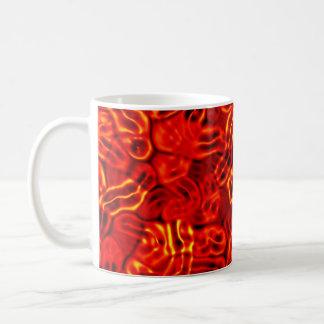 ゾンビの病気のウイルス コーヒーマグカップ