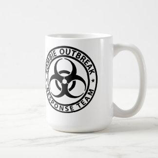 ゾンビの発生の応答のチーム存続のマグ コーヒーマグカップ
