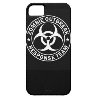 ゾンビの発生の応答のチーム生物危険歩くd iPhone SE/5/5s ケース