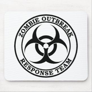 ゾンビの発生の応答のチーム(生物学的災害[有害物質]) マウスパッド