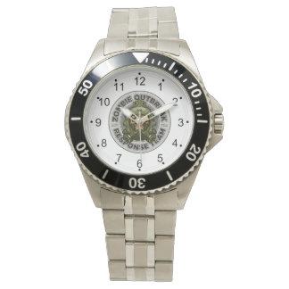 ゾンビの発生の応答のチーム 腕時計