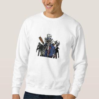 ゾンビの米国市民 スウェットシャツ