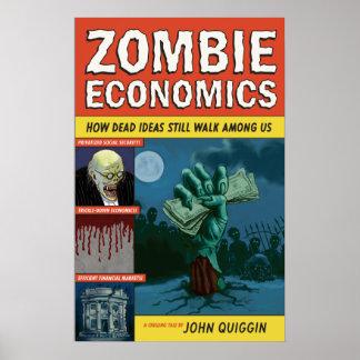 ゾンビの経済学ポスター ポスター