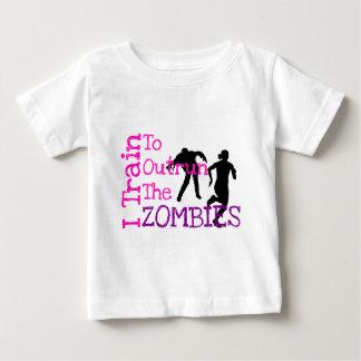 ゾンビの訓練 ベビーTシャツ