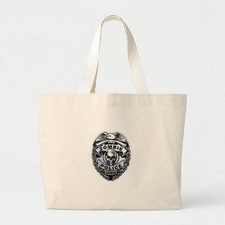 ゾンビの警察 ラージトートバッグ