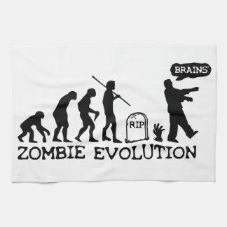 ゾンビの進化 キッチンタオル