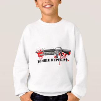 ゾンビの防水加工剤 スウェットシャツ