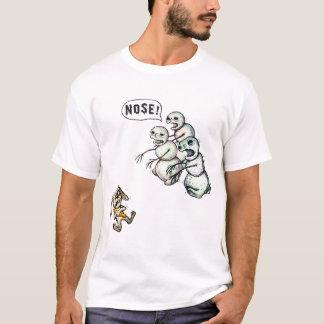ゾンビの雪だるま Tシャツ