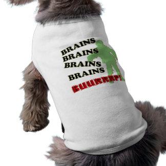 ゾンビの頭脳の頭脳の頭脳のげっぷ! ペット服