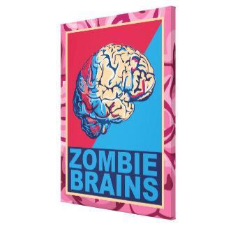 ゾンビの頭脳 キャンバスプリント