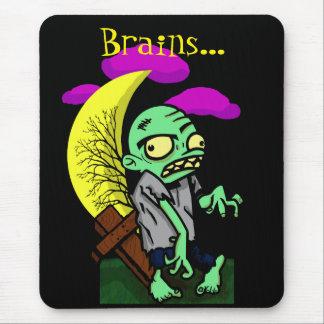 ゾンビの頭脳 マウスパッド