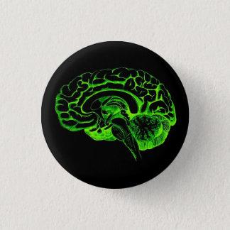 ゾンビの頭脳 缶バッジ