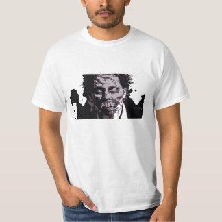 ゾンビの顔メンズTシャツ2 Tシャツ