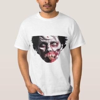 ゾンビの顔1 Tシャツ
