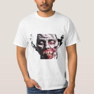 ゾンビの顔2 Tシャツ