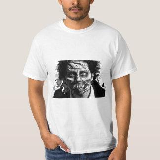 ゾンビの顔6 Tシャツ