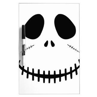 ゾンビの顔 ホワイトボード