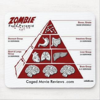 ゾンビの食糧ピラミッド マウスパッド