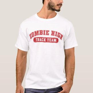 ゾンビの高陸上競技チーム Tシャツ