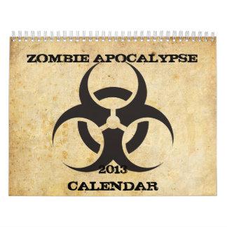 ゾンビの黙示録のカレンダー カレンダー