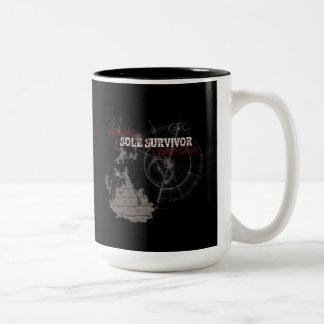 ゾンビの黙示録の唯一の生存者のコーヒーカップ ツートーンマグカップ