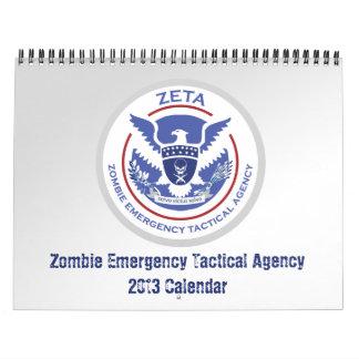 ゾンビの黙示録の物語のカレンダー2013年 カレンダー